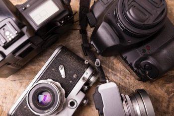 中古カメラの写真