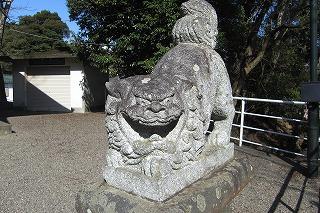 五十猛神社狛犬阿形.jpg