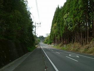 学校へ続く道