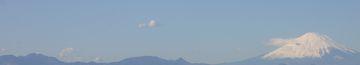 新春の富士山